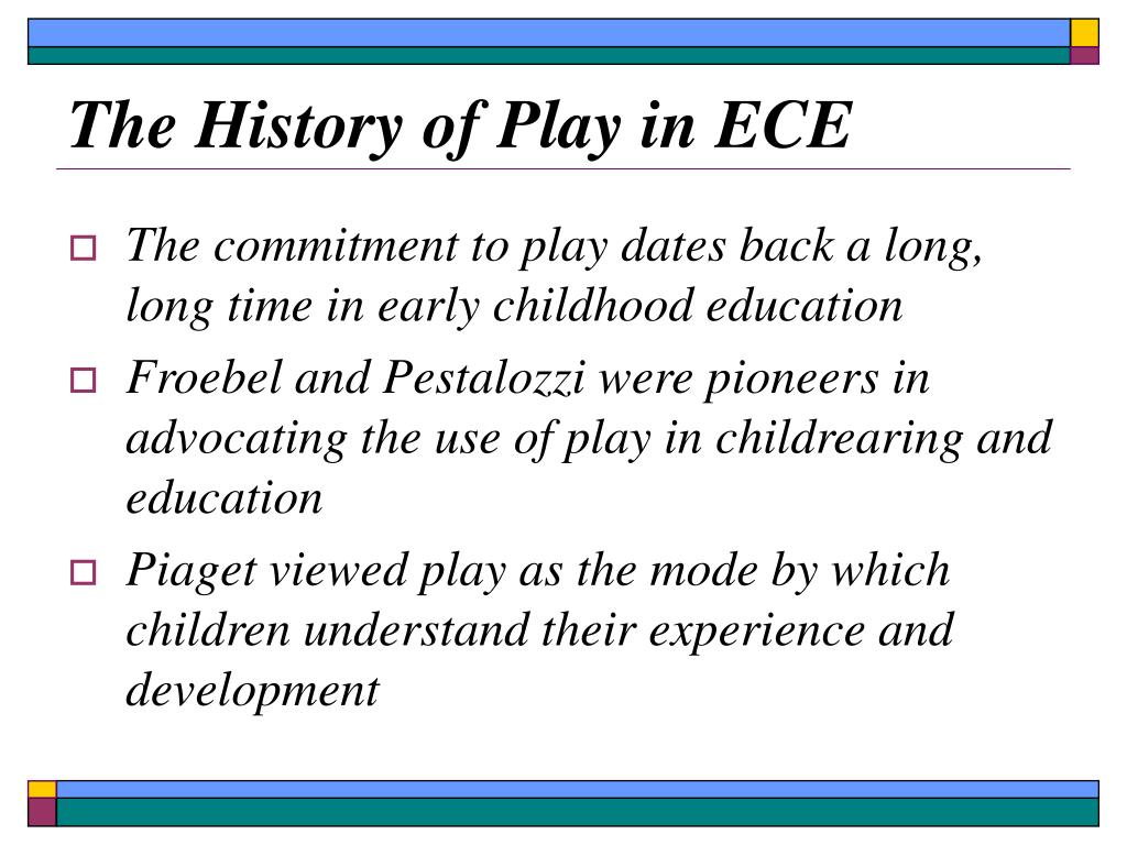 The History of Play in ECE