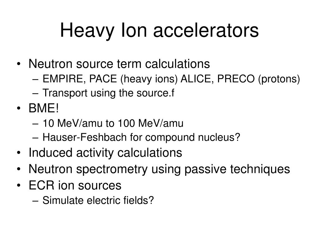 Heavy Ion accelerators
