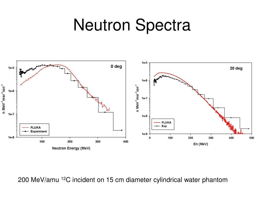 Neutron Spectra