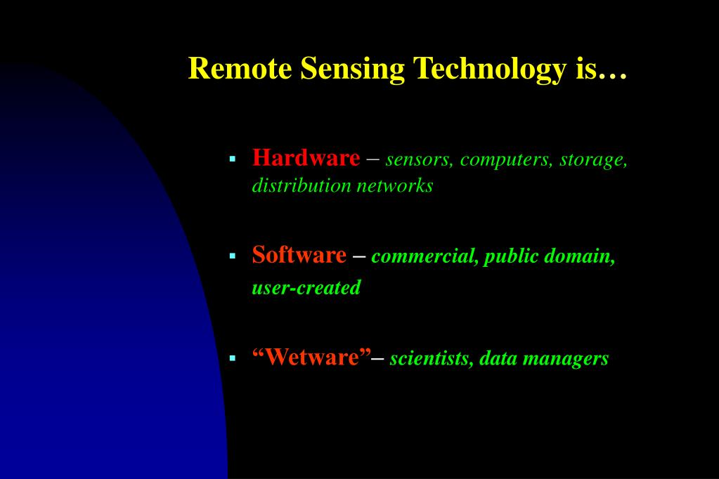 Remote Sensing Technology is