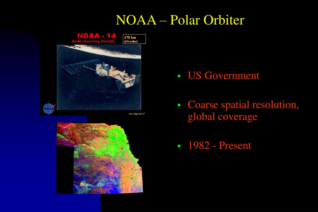 NOAA – Polar Orbiter