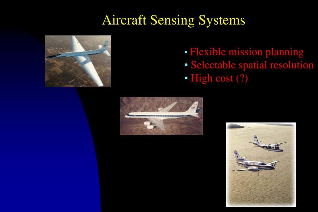 Aircraft Sensing Systems