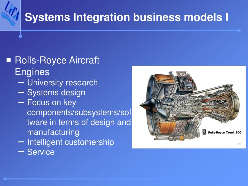Systems Integration business models I