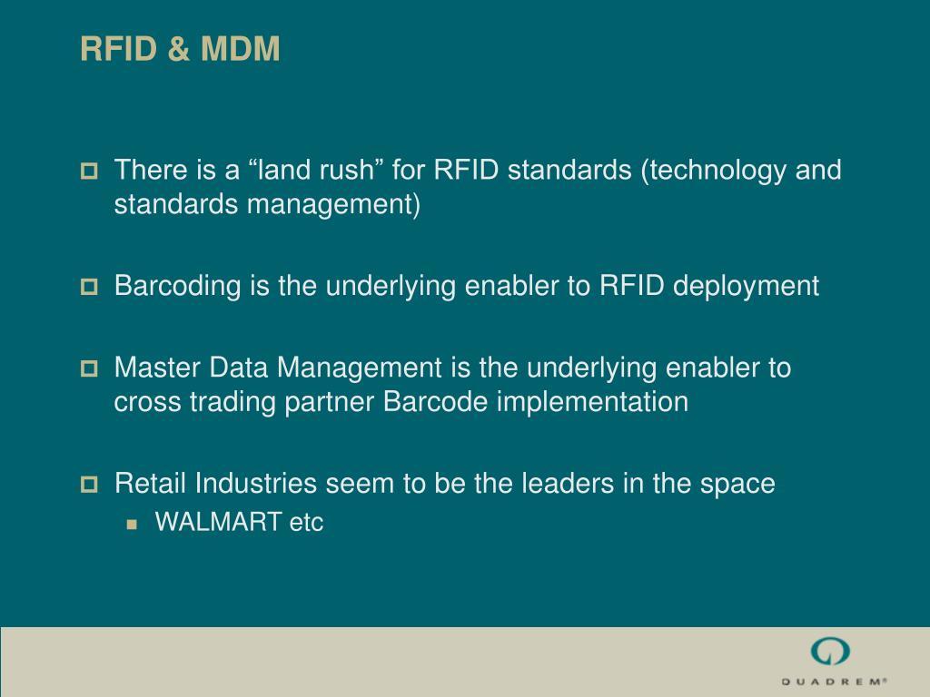 RFID & MDM