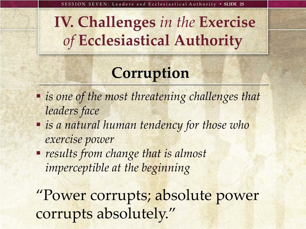 IV. Challenges