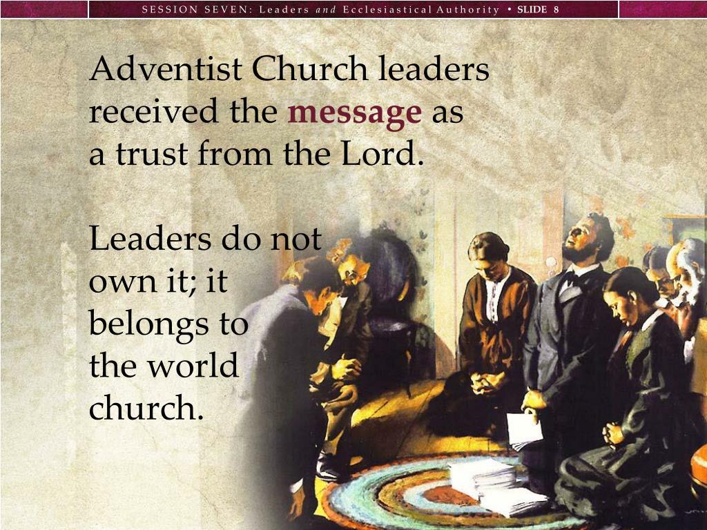 Adventist Church leaders