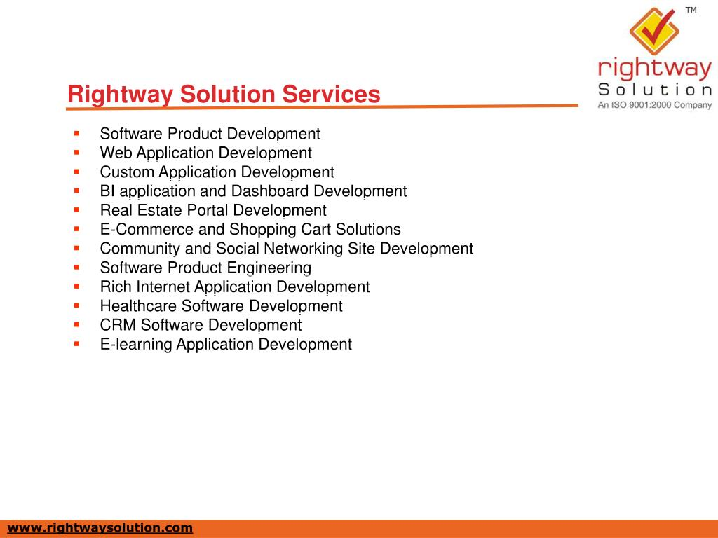 Rightway Solution Services