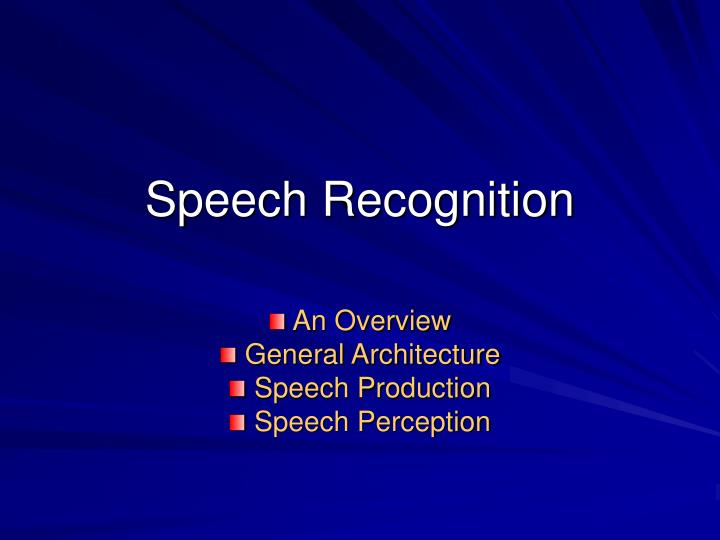 Speech recognition l.jpg
