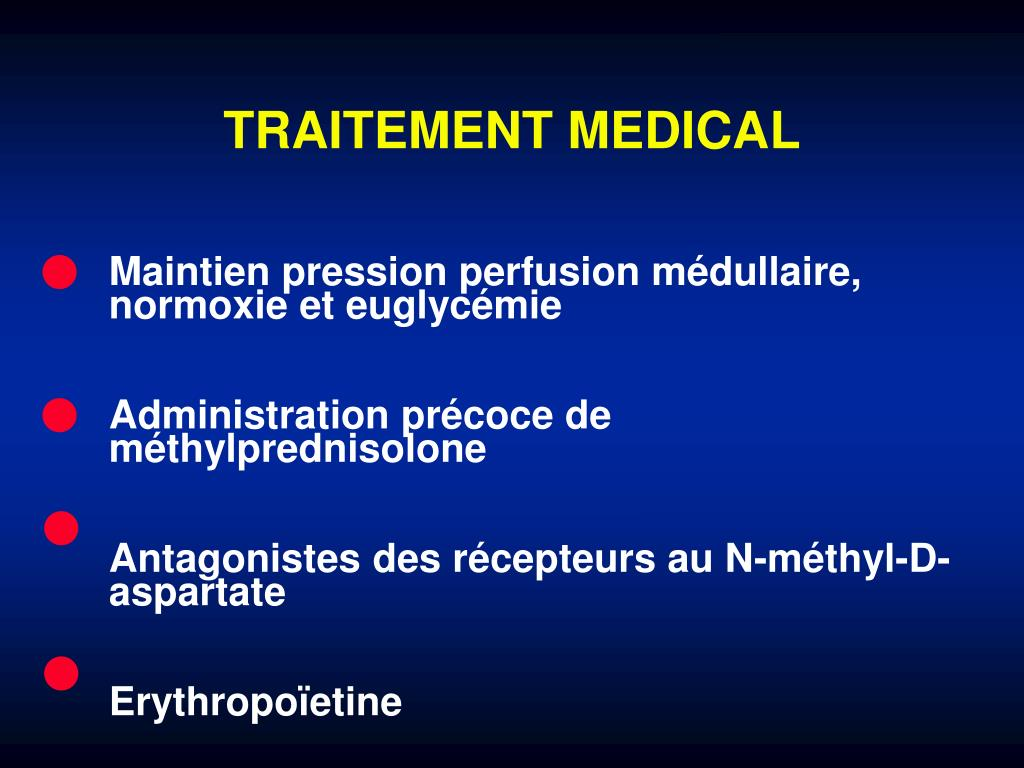 TRAITEMENT MEDICAL