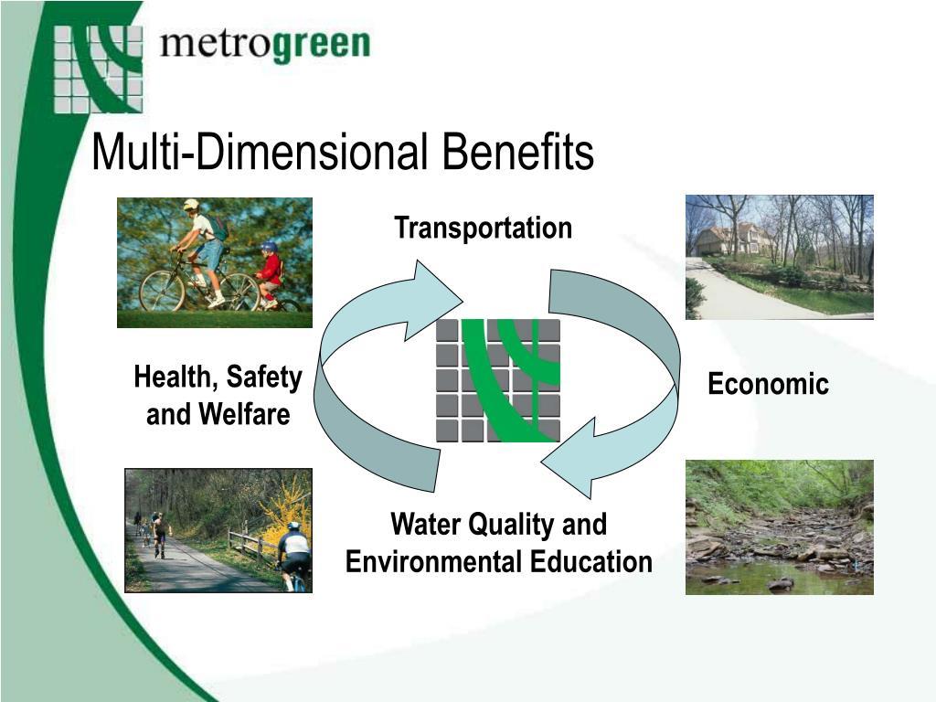 Multi-Dimensional Benefits