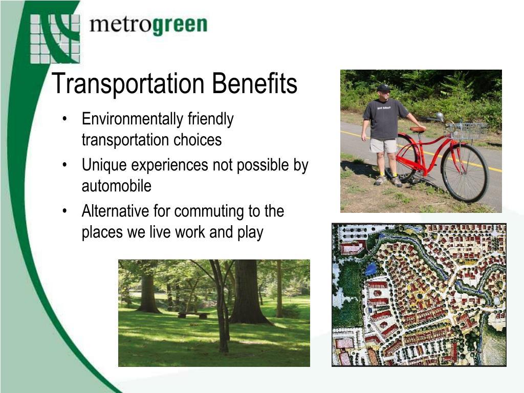 Transportation Benefits