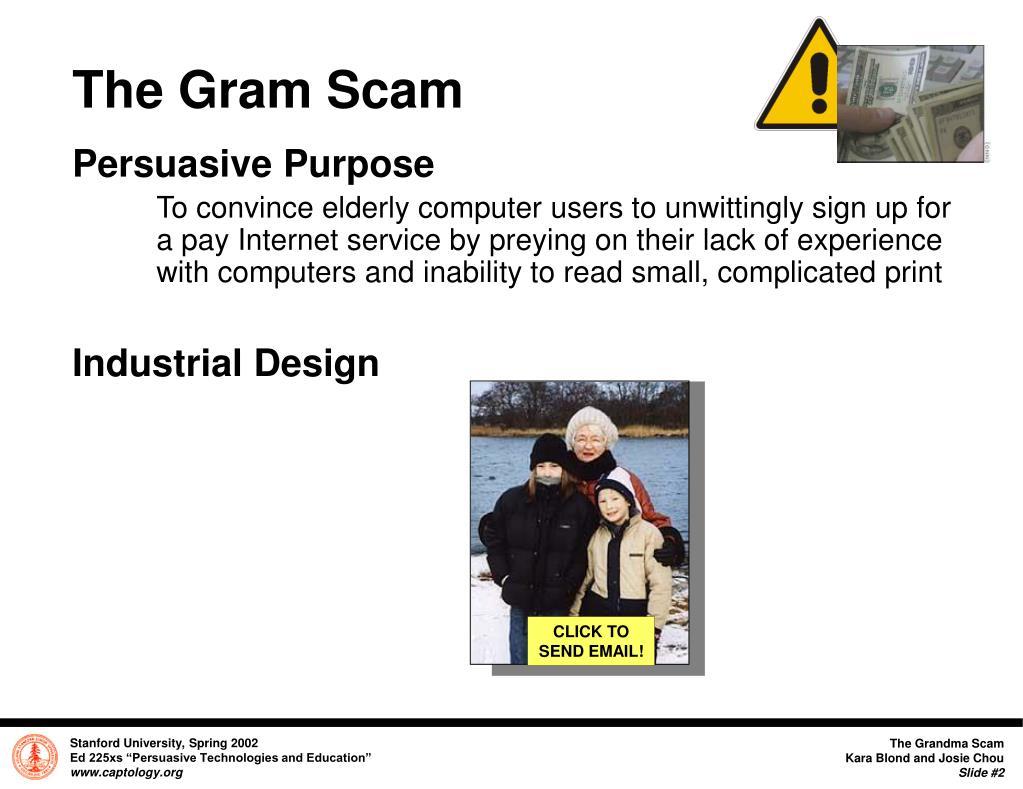The Gram Scam