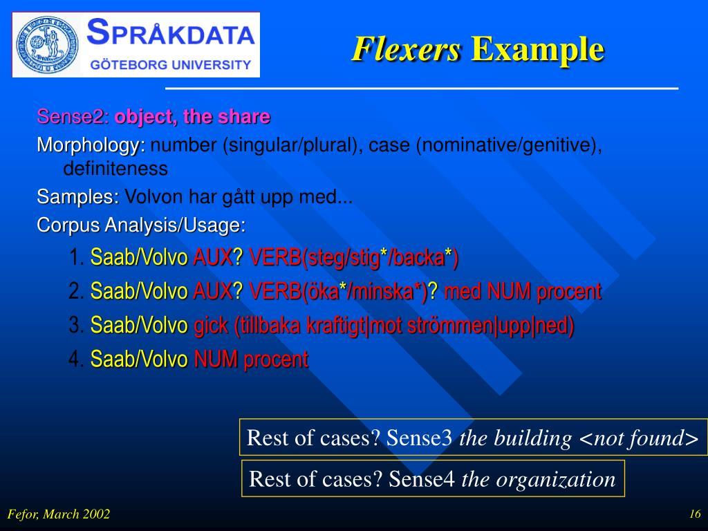 Flexers