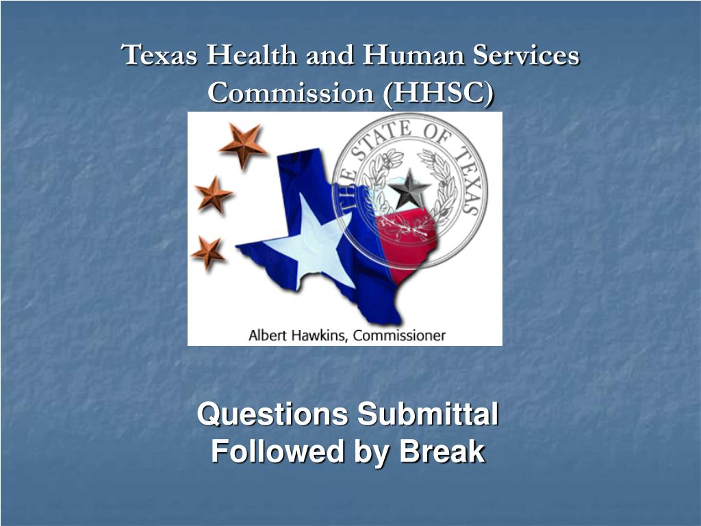 Texas Health and Human Services Commission (HHSC