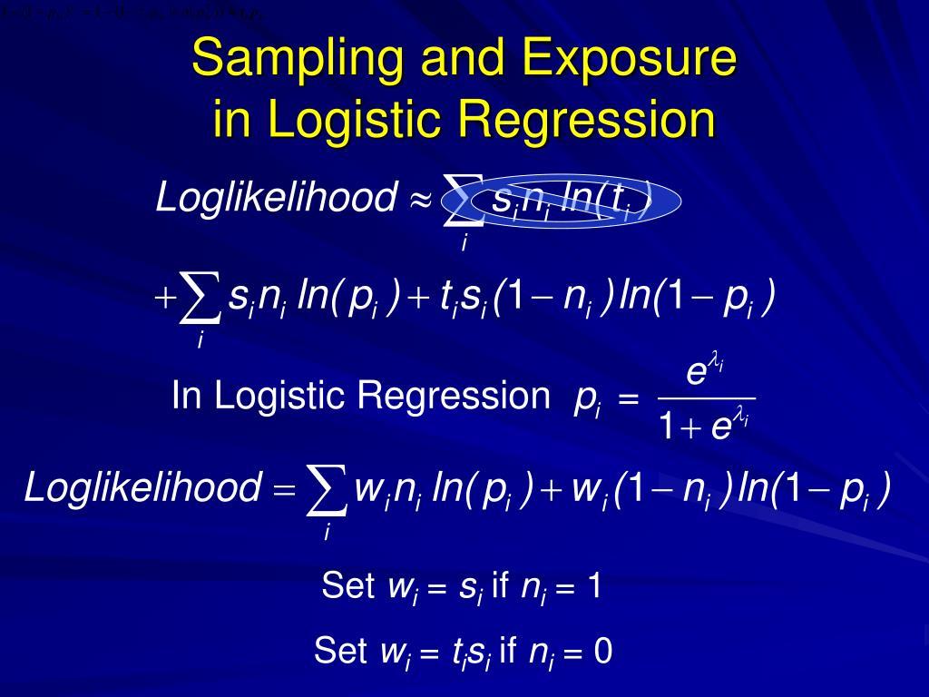 Sampling and Exposure