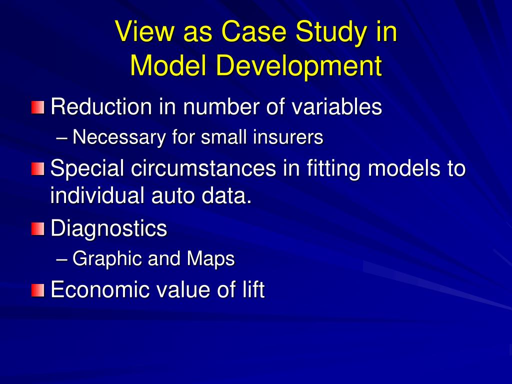 View as Case Study in