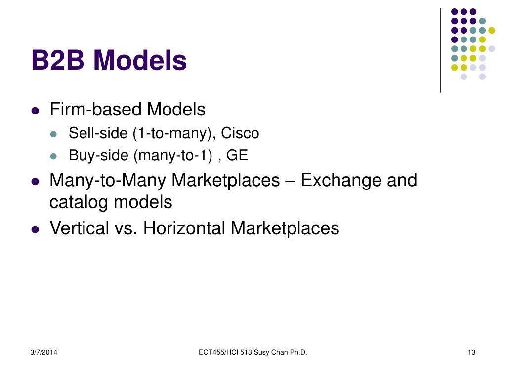 B2B Models