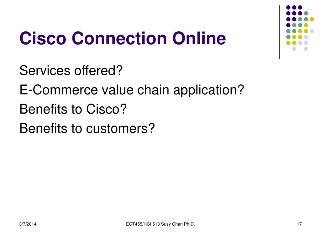 Cisco Connection Online
