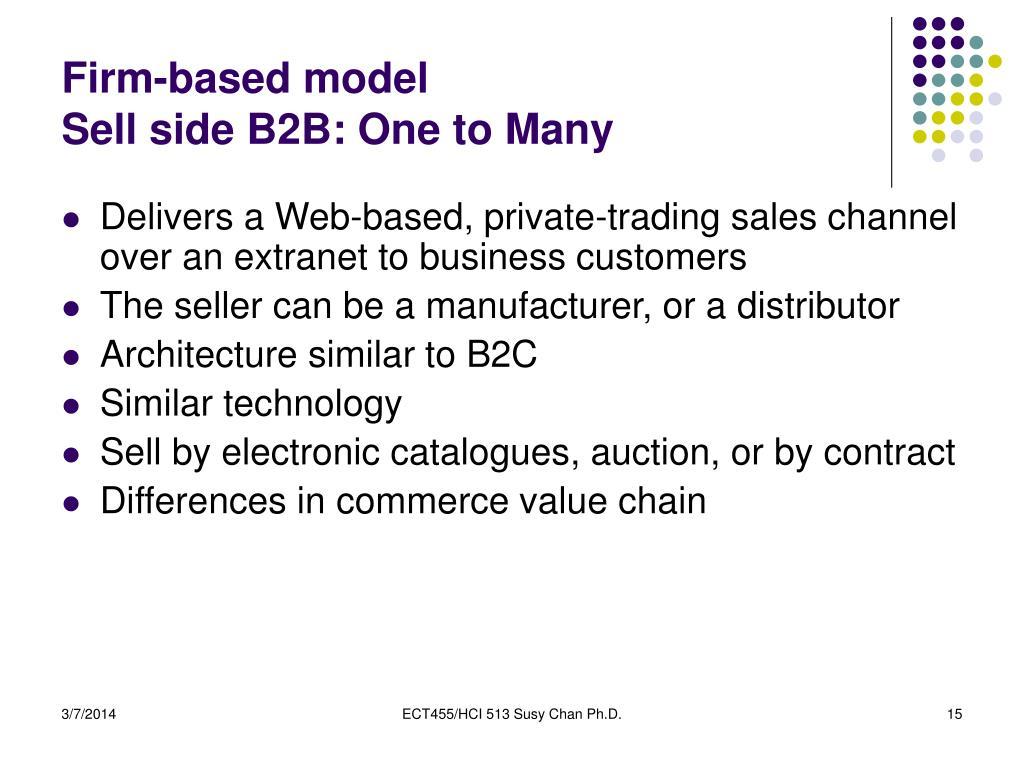 Firm-based model