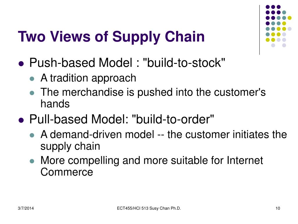Two Views of Supply Chain