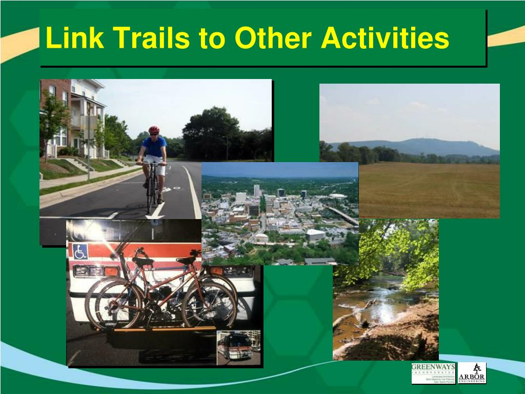 Link Trails to Other Activities