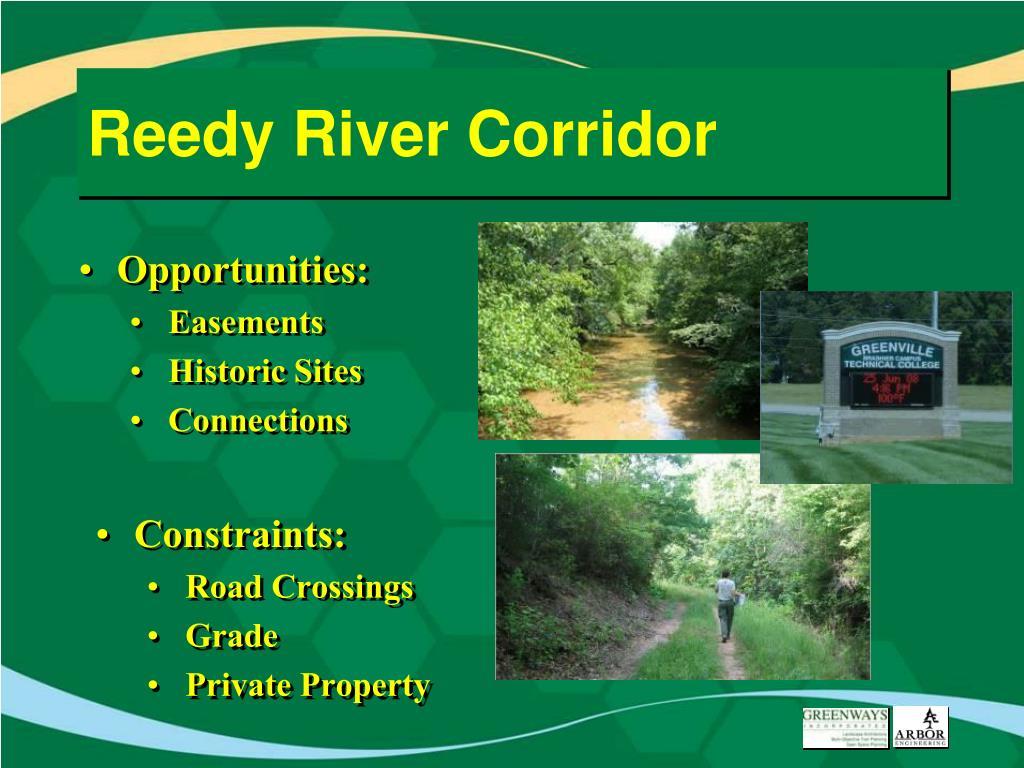Reedy River Corridor