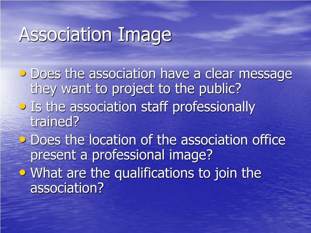 Association Image
