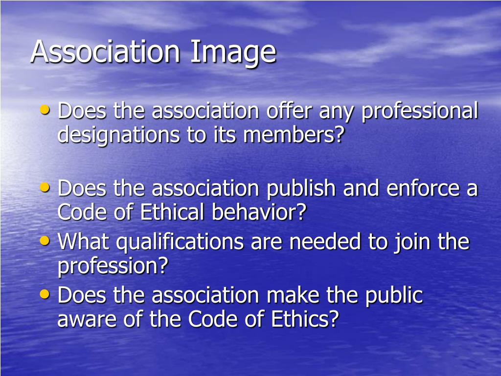 Does the association offer any professional designations to its members?