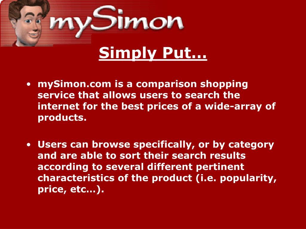 Simply Put…