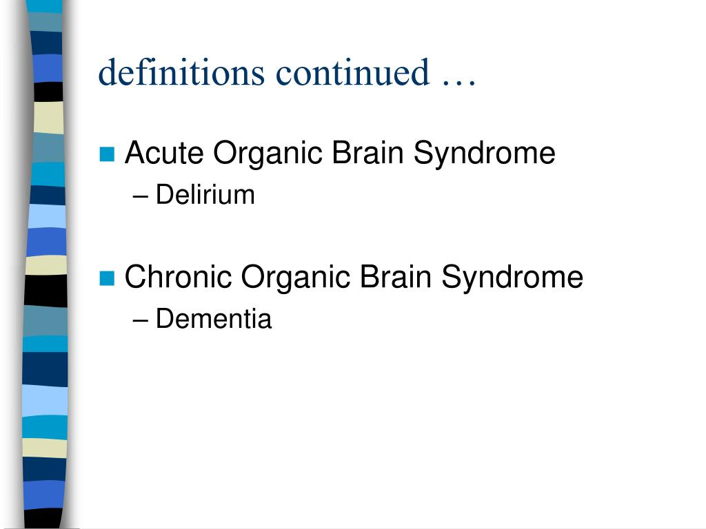 definitions continued …