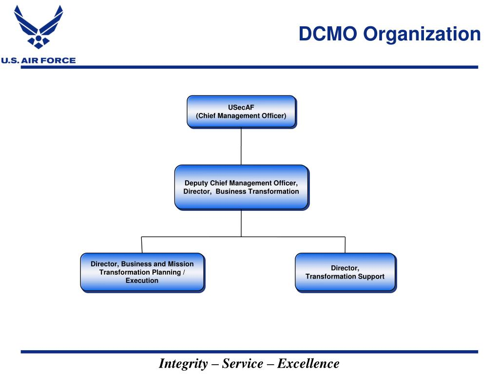 DCMO Organization