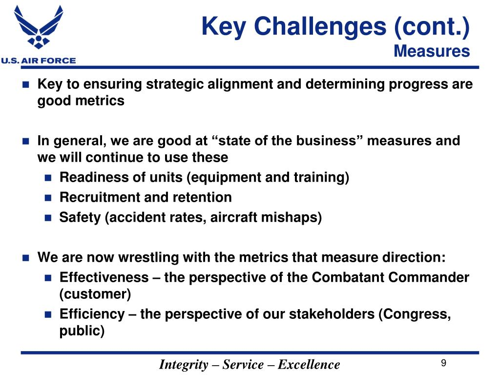 Key Challenges (cont.)