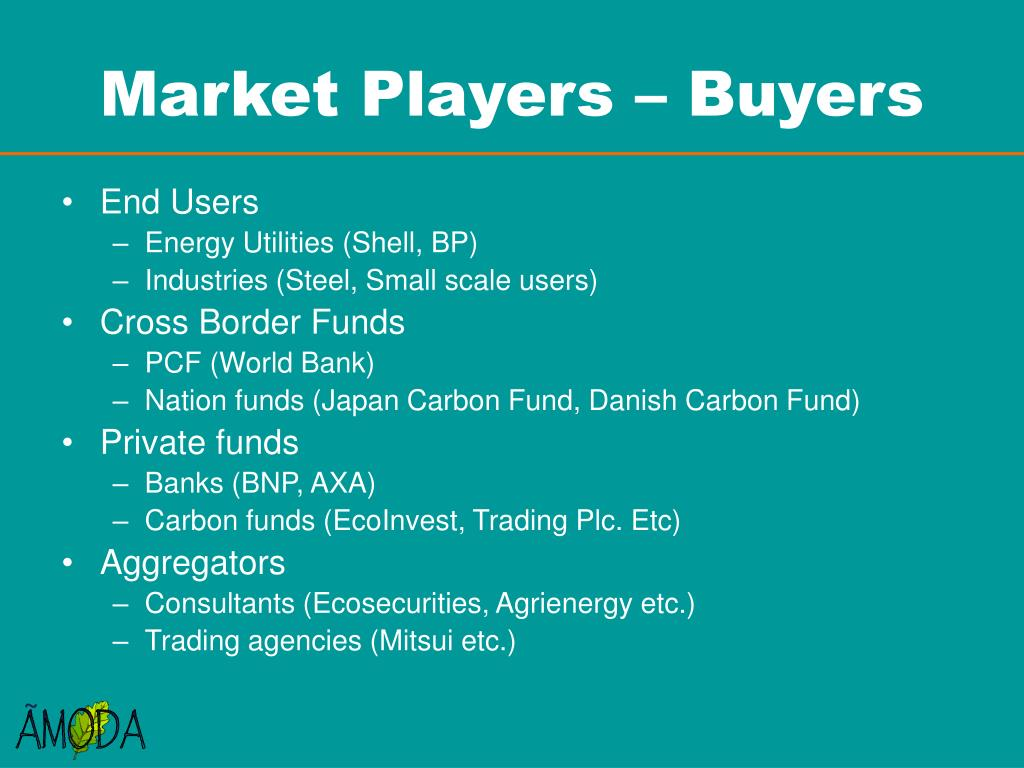 Market Players – Buyers