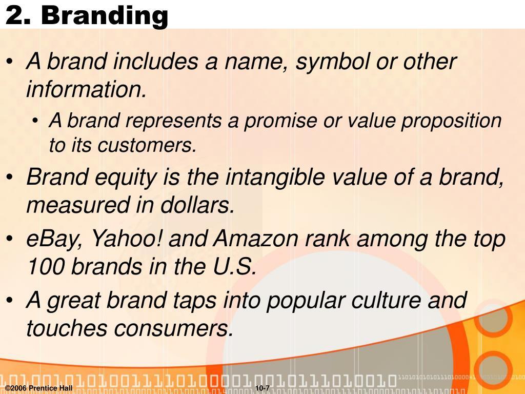2. Branding