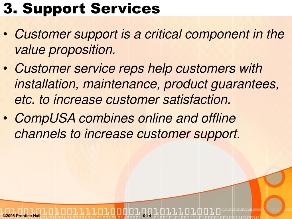 3. Support Services