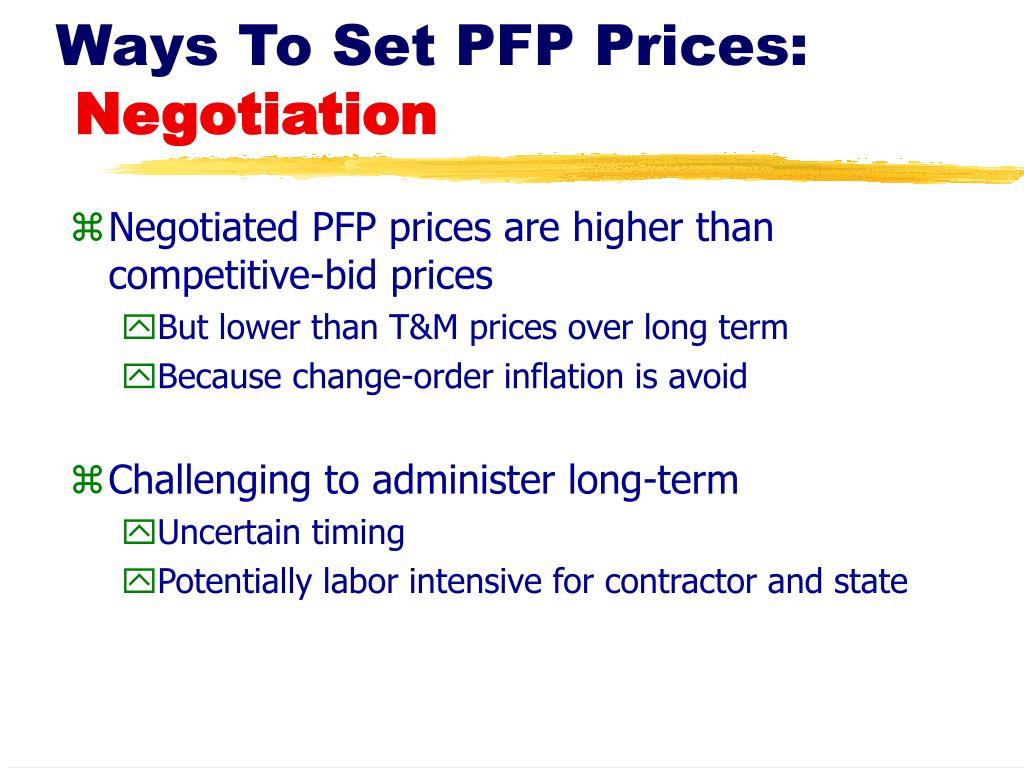 Ways To Set PFP Prices: