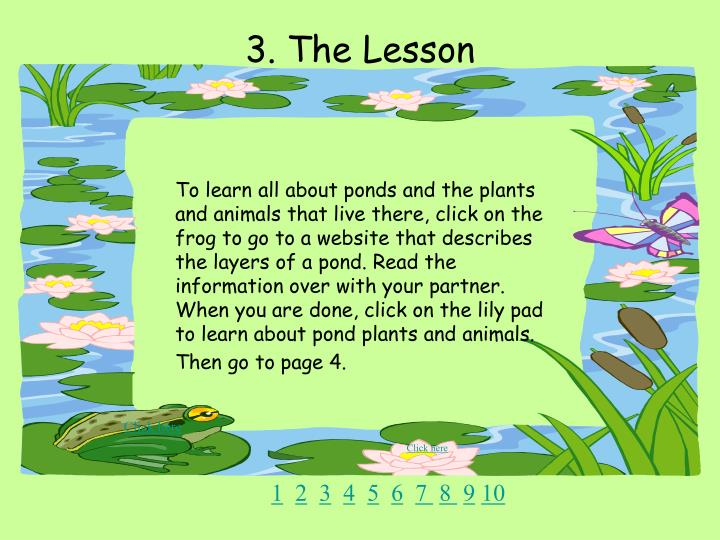 3. The Lesson