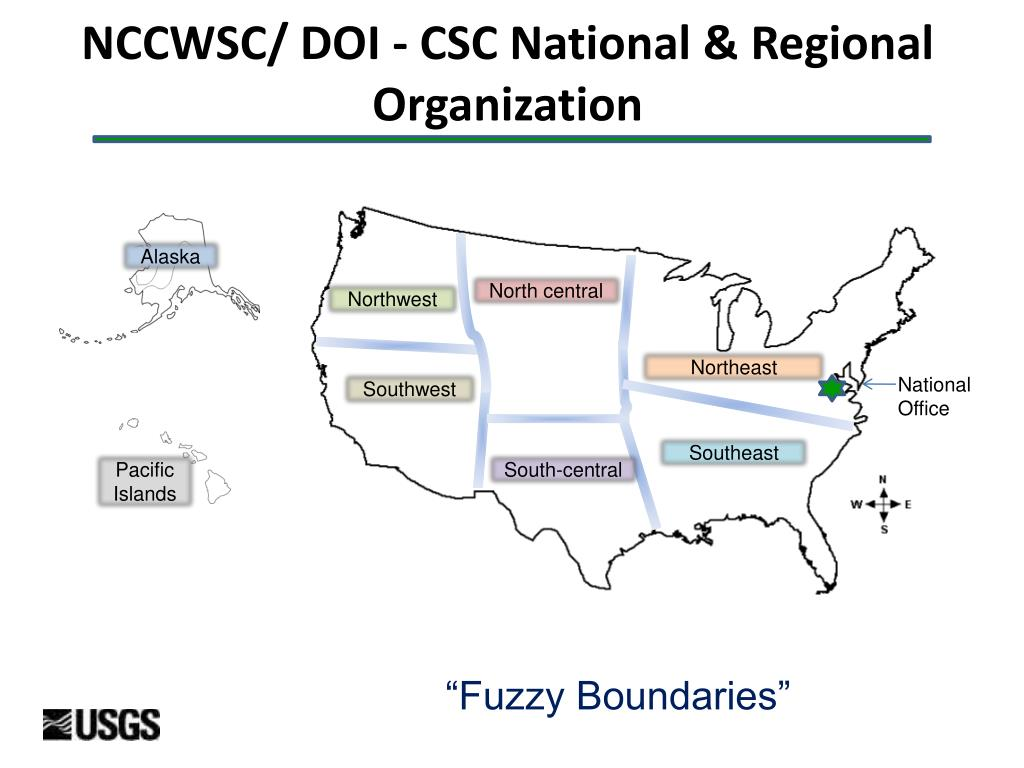 NCCWSC/ DOI - CSC National & Regional Organization