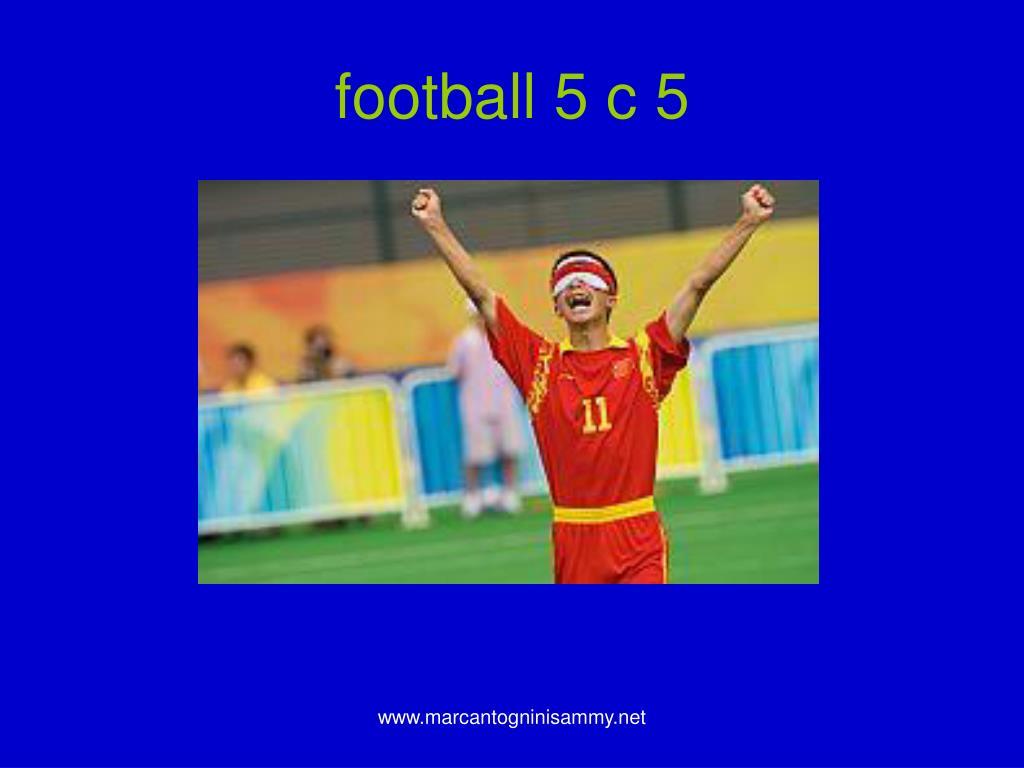 football 5 c 5