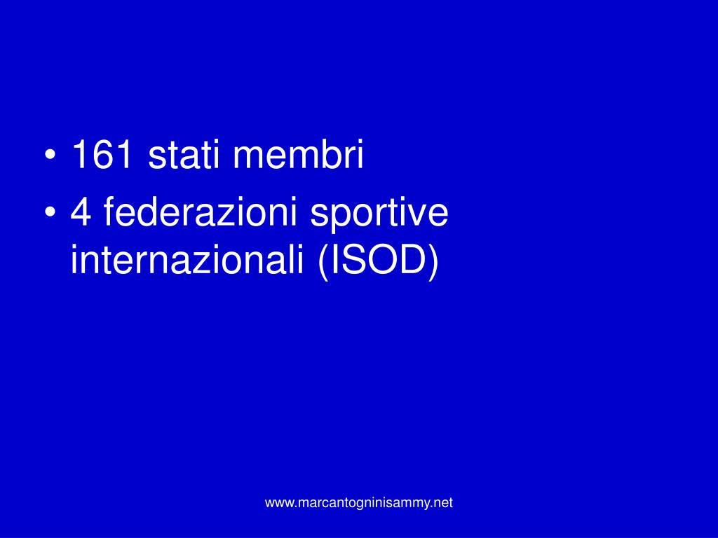 161 stati membri