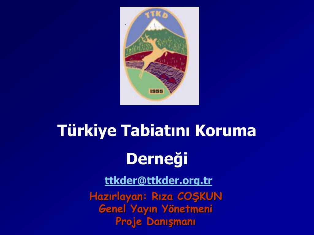 Türkiye Tabiatını Koruma