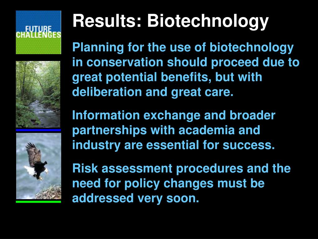 Results: Biotechnology