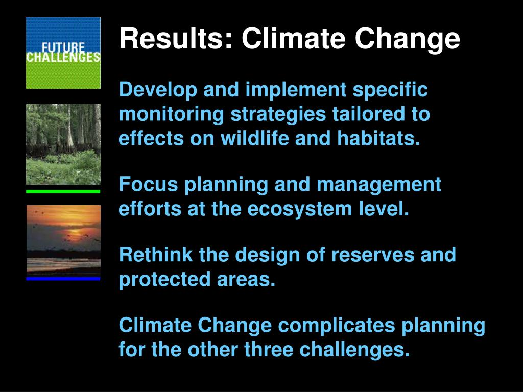 Results: Climate Change
