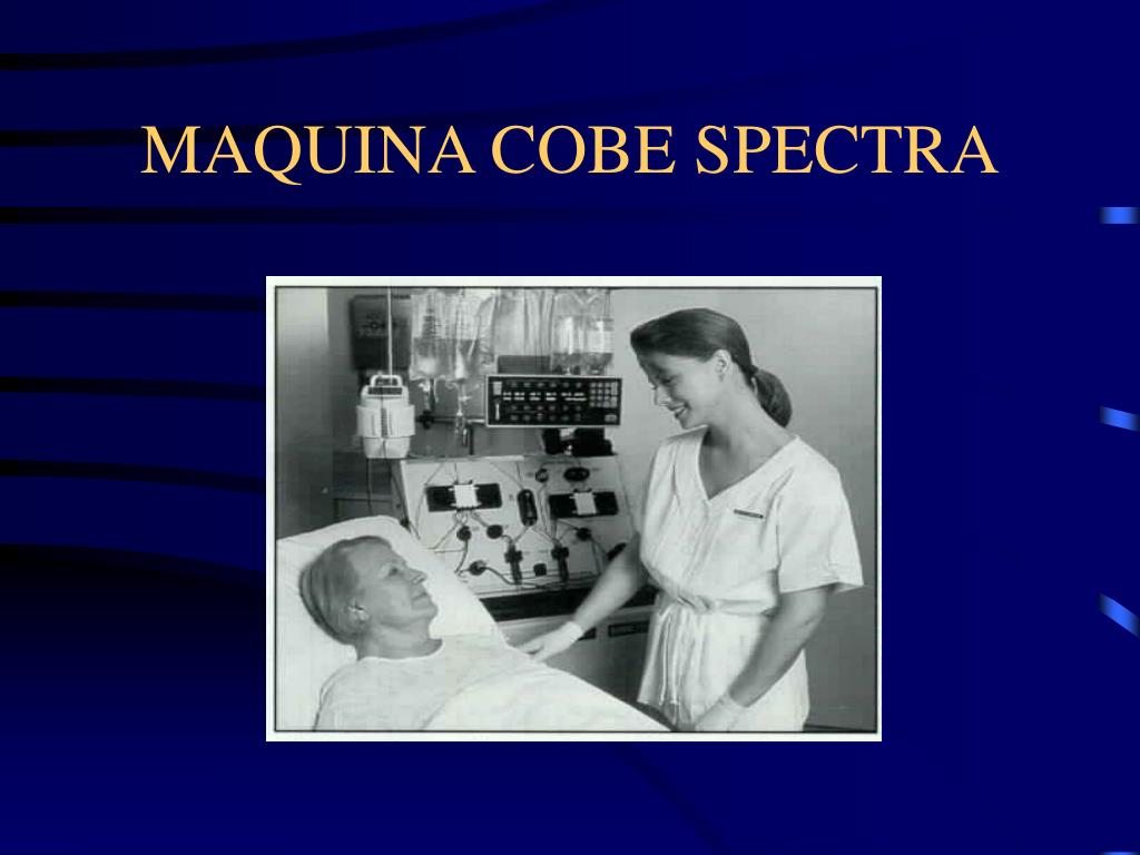 MAQUINA COBE SPECTRA