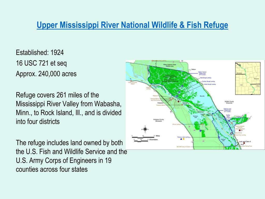 Upper Mississippi River National Wildlife & Fish Refuge
