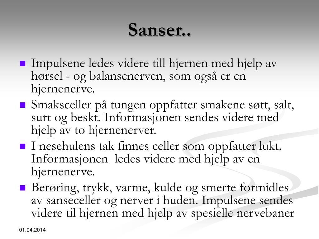 Sanser..