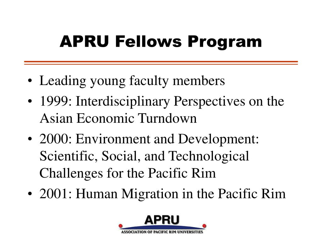 APRU Fellows Program