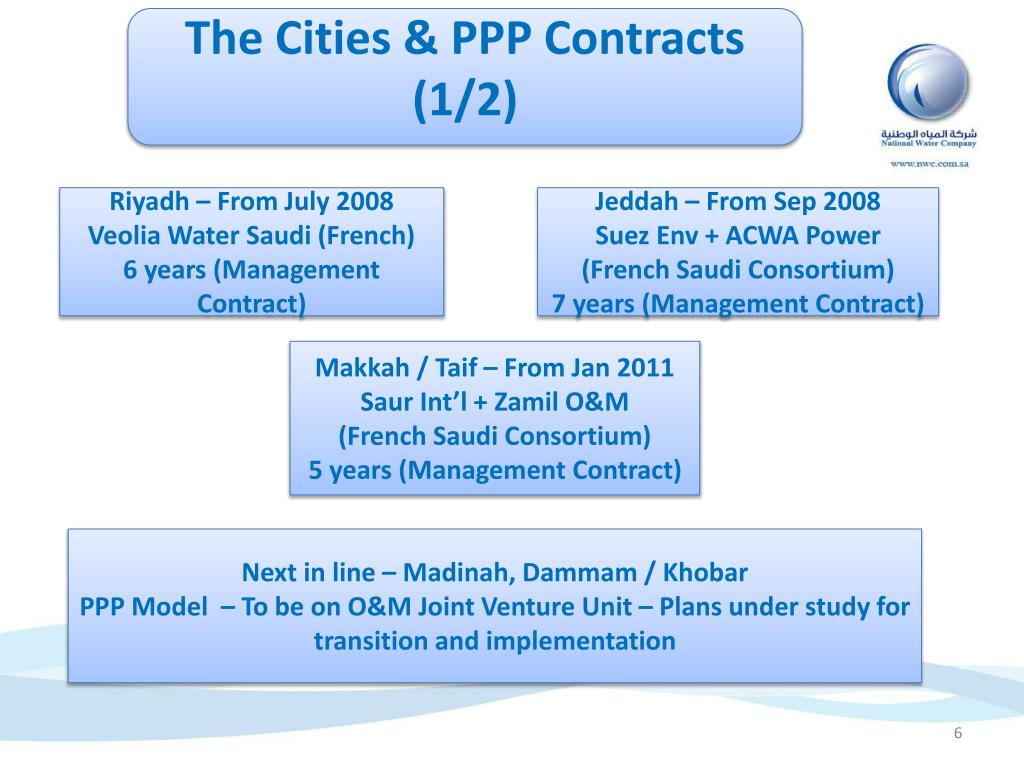 The Cities & PPP Contracts