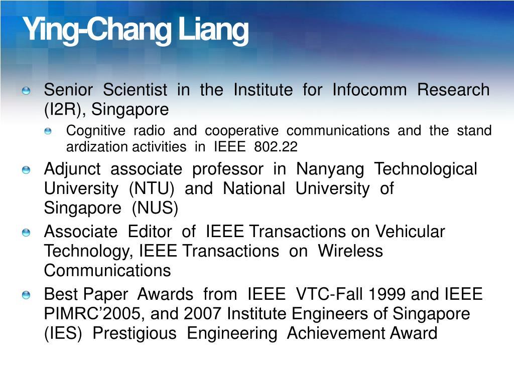 Ying-Chang Liang