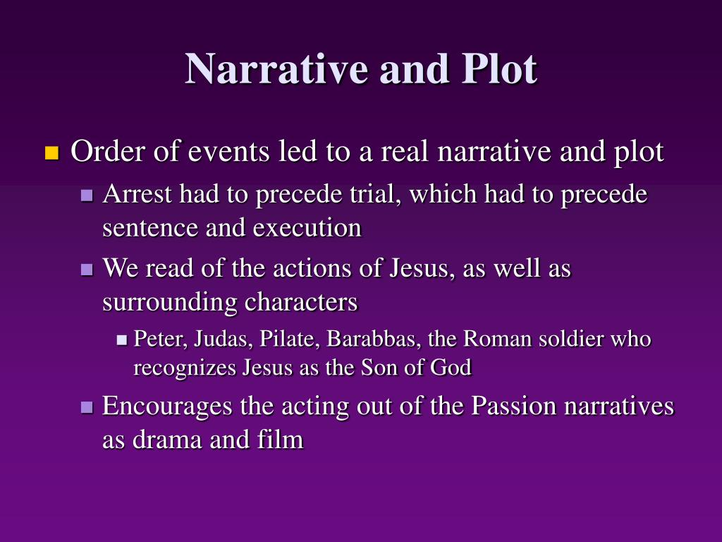 Narrative and Plot